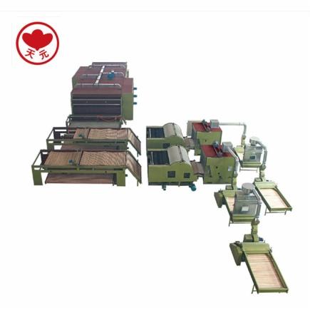 PWJM-1喷胶/无胶棉生产线