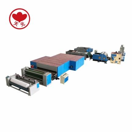 WJM-2+ZCM-1000无胶棉针刺棉生产线