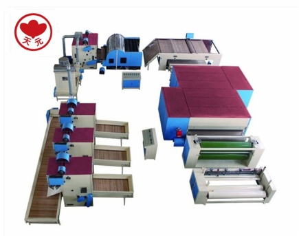 WJM-3型无胶棉生产线(电加热热风循环)