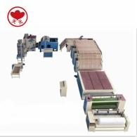 WJM-2+ZCM-1000无胶棉、针刺棉生产线